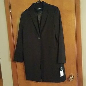 NWT Lauren Ralph Lauren long jacket
